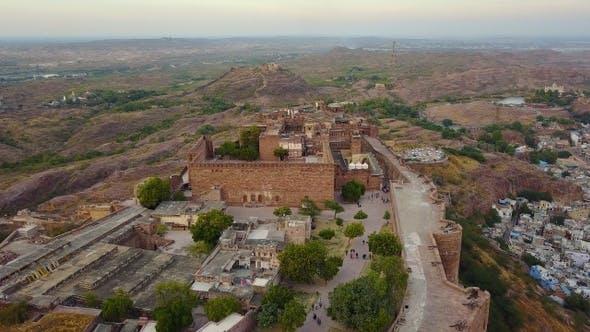 Thumbnail for Mehrangarh Fort at Jodhpur Rajasthan, India.