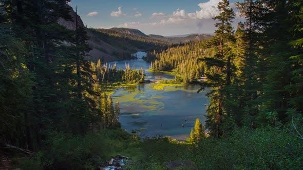Thumbnail for Lake Landscape Time Lapse Landscape