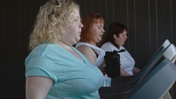 Thumbnail for Overweight Women Burning Calories