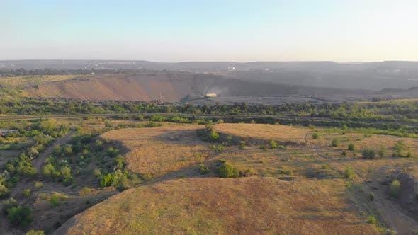 Excavator Iron Ore Mining
