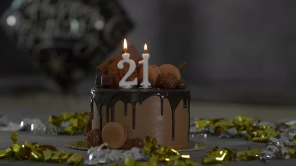 Thumbnail for 21th Birthday Cake