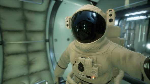 Thumbnail for Astronaut Inside the Orbital Space Station