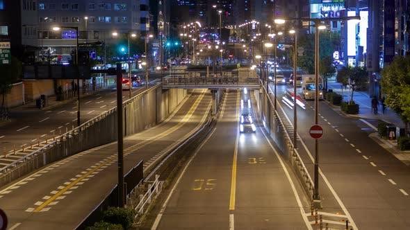 Thumbnail for Osaka Motorway Urban Transportation Timelapse