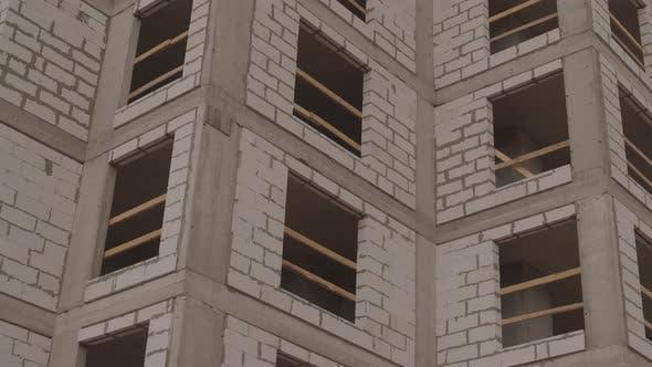 Concrete Blocks Building