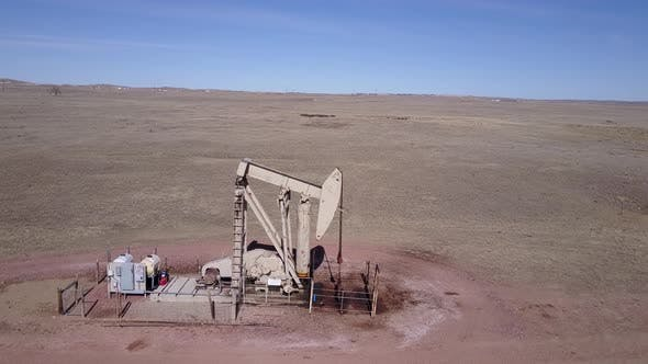 Thumbnail for Land Use Gillette in Spring Pumpjack Pump Jack Well Drill Gas Oil Extraction