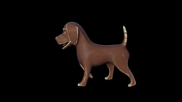 Thumbnail for Wood Toy Dog Walk