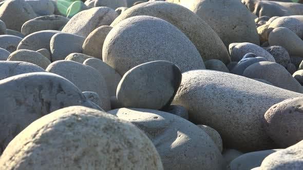 Natural Round Curved Zen Stones