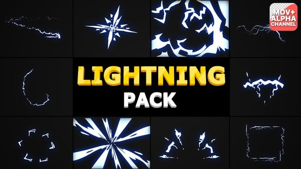 Lightning Pack | Motion Graphics