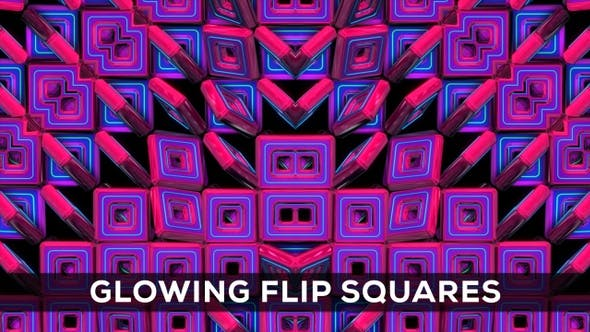 Thumbnail for Glowing Flip Squares