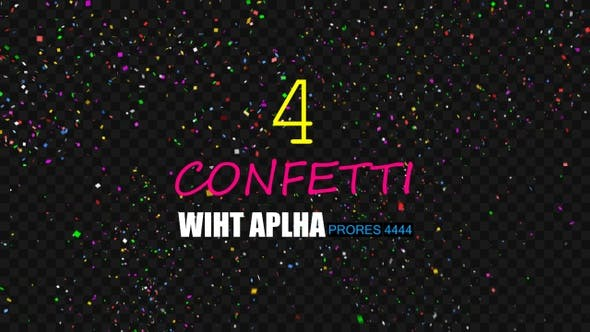 Thumbnail for Confetti HD Pack4