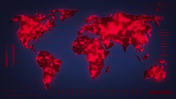Covid-19 Coronavirus Map