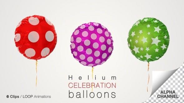 Thumbnail for Celebration Helium Balloon