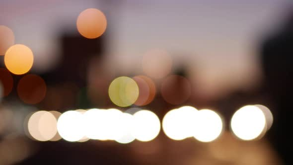 Thumbnail for City Traffic Sunset