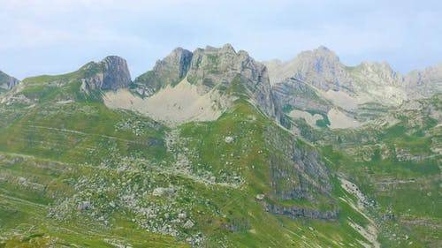 Amazing Aerial View on Durmitor Mountains National Park in Montenegro Balkans Europe