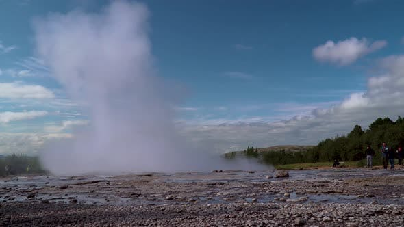 Thumbnail for Strokkur Geyser Eruption in Iceland