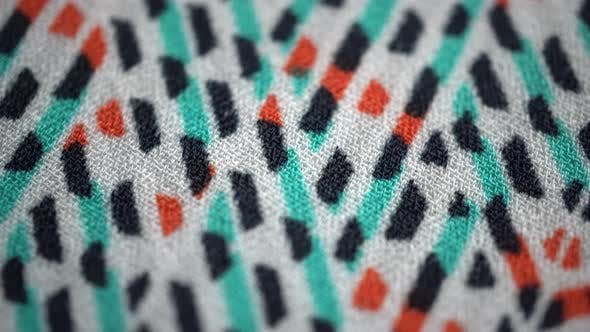 Thumbnail for Color Abstract Fabric 2