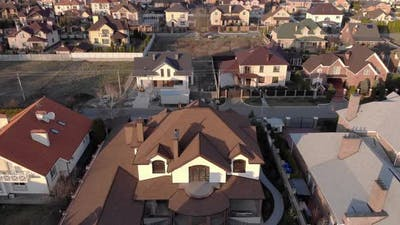 Rich Suburb Houses