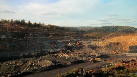 Thumbnail for Timelapse Quarry Coal Mining