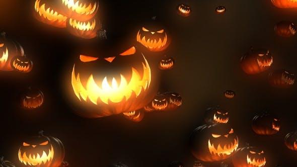 Thumbnail for Halloween Pumpkin 4k