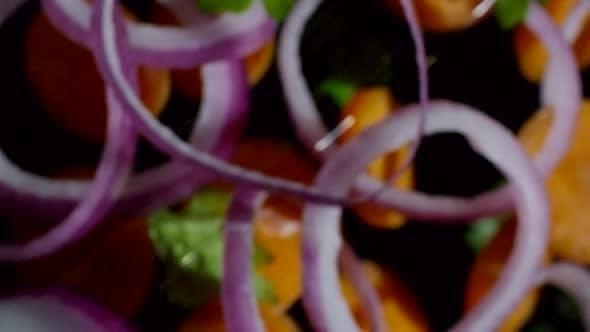 Thumbnail for Falling Fresh Vegetables