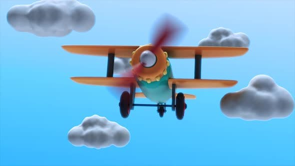 Cover Image for Toy Plane Flying 01 Loop