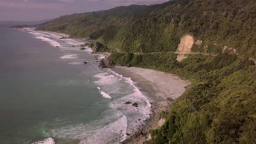 West Coast coastal road