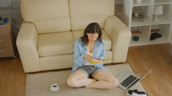 Thumbnail for Woman Reading a Book