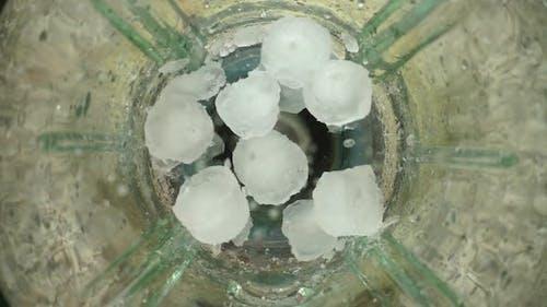 Crushing of Ice
