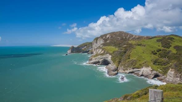 Thumbnail for Coast of New Zealand timelapse