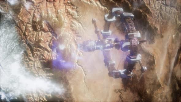 Terre et engins spatiaux