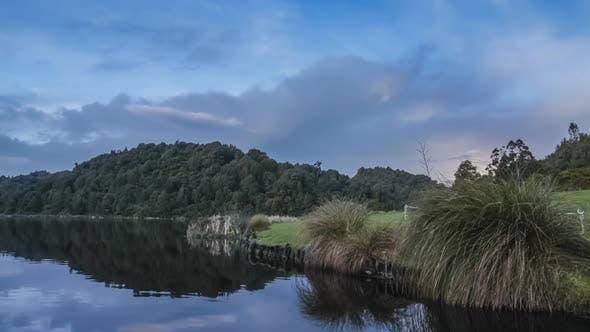 Rotokare scenic reserve timelapse