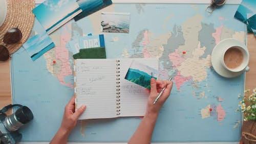 Checking Travel List Before Journey