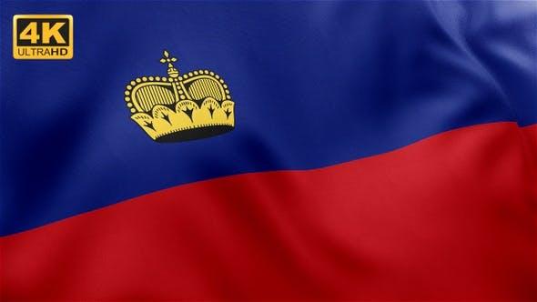 Liechtenstein Flag - 4K