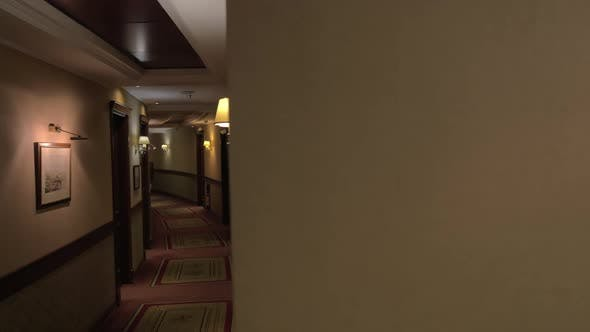 Thumbnail for Slow Motion View of Round Hall in the Luxury Hotel