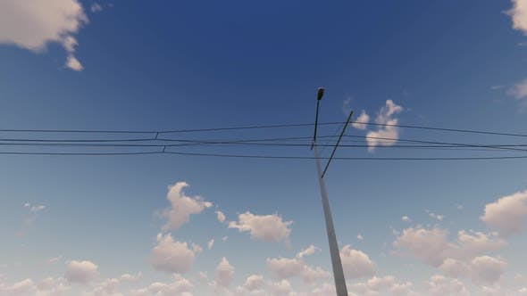 Cover Image for City Power Lines