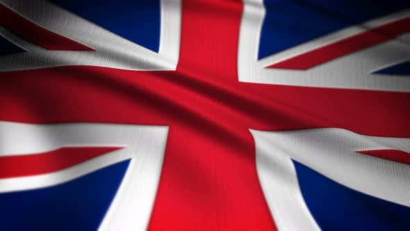 Thumbnail for United Kingdom Flag Seamless Loop
