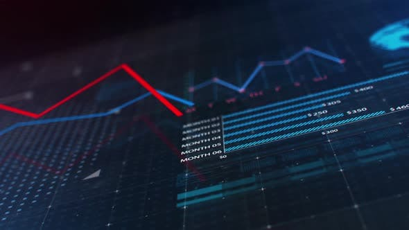Thumbnail for Animated Business Data Graph