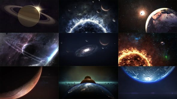 Cinematic Space Pack