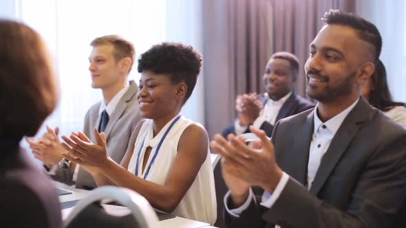 Thumbnail for People Applauding at Business Conference