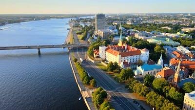 Riga president castle