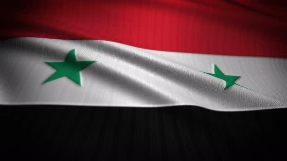 Cover Image for Syria Flag Seamless Loop