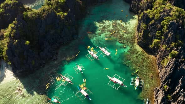 Thumbnail for Tropical Seawater Lagoon, Philippines, El Nido