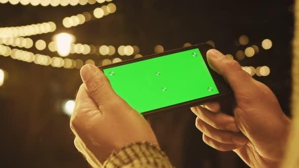 Green Screen Smartphone