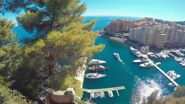 Cover Image for Boats And Yachts In Monaco Port 3