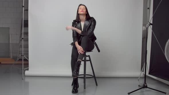 Thumbnail for Photo and Video Studio with Woman Poses