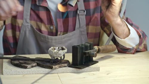 Using Jewelry Welder