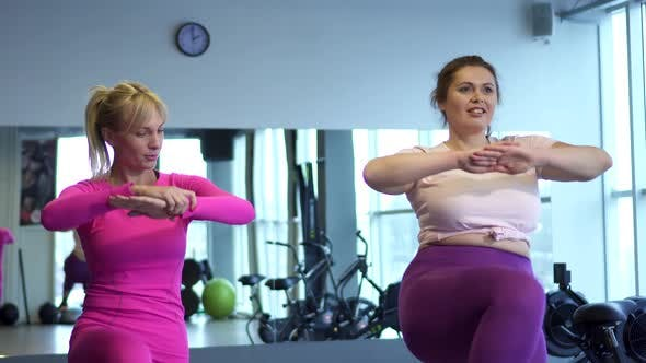 Thumbnail for Fitness Instructor Trains Fat Woman