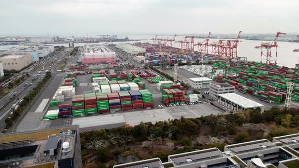 Thumbnail for Container Terminal Freight Transportation Tokyo