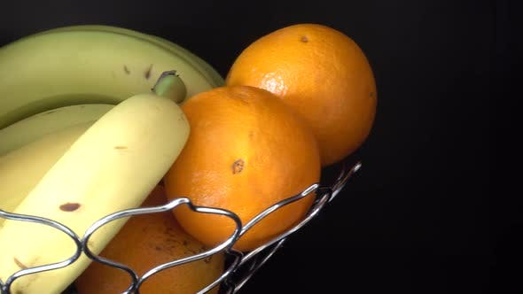 Thumbnail for Vase with Natural Bananas and Oranges