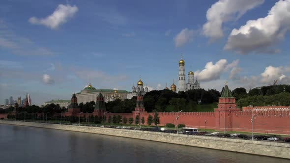 Thumbnail for Time lapse from the Kremlin in Moscow